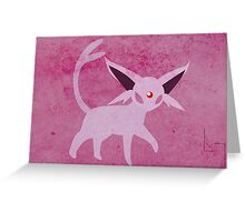 Espeon Greeting Card