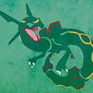Rayquaza by jehuty23
