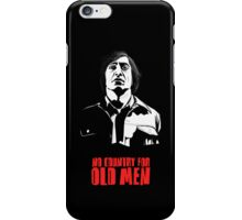 Anton Chigurh (Javier Bardem) No Country For Old Men  iPhone Case/Skin
