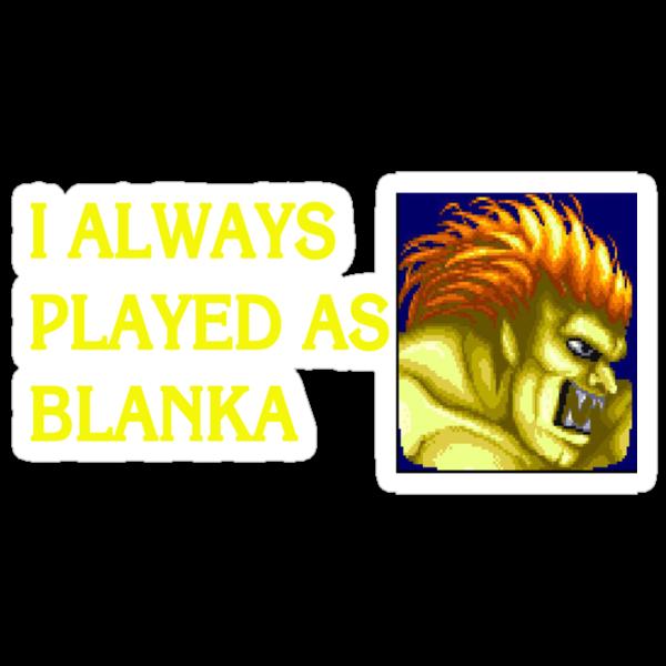 Street Fighter 2 Memories BLANKA by Jamie Meakin