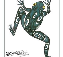 Crawling tree Frog by Speakthunder
