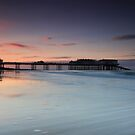 Cromer Pier Dusk by Ursula Rodgers Photography