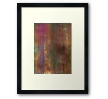 RAINBOW DREAMLAND SUNSET Framed Print