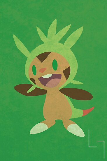 Chespin by jehuty23