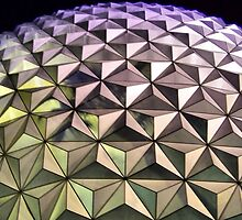 Spaceship Earth, Disney World, Orlando, Florida by Crystal Clyburn