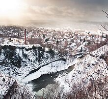 Ithaca's Winter by Eric Tsai