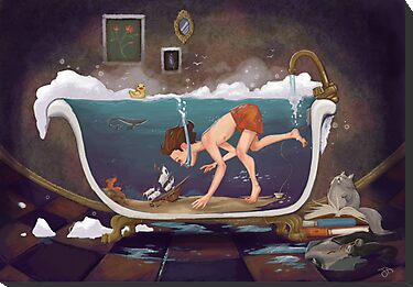 Depths of Imagination by Jennalee Auclair