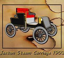 Jaxton Steam Carriage 1903 by Dennis Melling