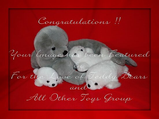 Banner : For the Love of Teddies and all other toys by AnnDixon