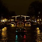 Amsterdam by night by esmerose