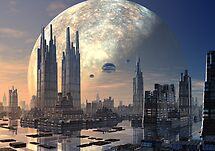 Future City by SpinningAngel