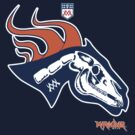 Denver Football's horse:  Pestilence by Summo13