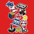 Sticked to the 80s by Gomet