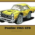 Pontiac 1965 GTO - Muscle Car by RiverbyNight