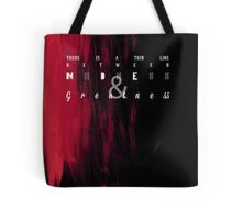 Madness and Greatness Tote Bag