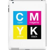 CMYK 11 iPad Case/Skin