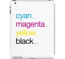 CMYK 17 iPad Case/Skin