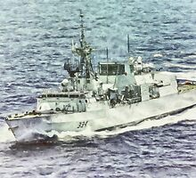 HMCS Regina by Shawna Mac by Shawna Mac