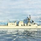 HMCS Fredericton by Shawna Mac by Shawna Mac