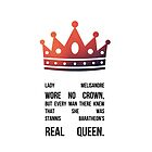 Queen Melisandre by sophiestormborn