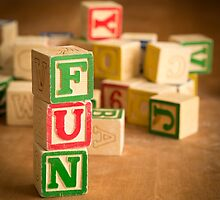 FUN - Alphabet Blocks by Edward Fielding