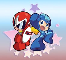 Rockman & Protoman by Gaming4All