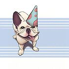 Birthday Frenchie by dezster