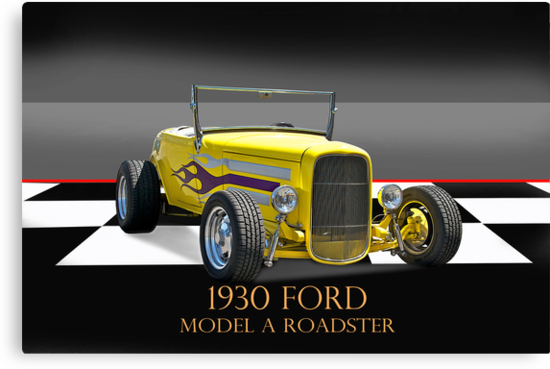 1930 Ford Model A Roadster w/ID by DaveKoontz