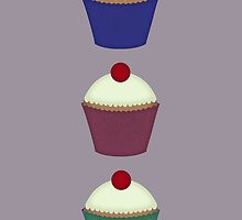 Three Little Cupcakes by limeleaf