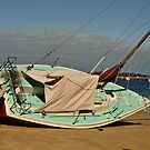 Beached Boat by kalaryder