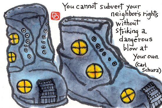 Philosophical Boots (v.4) by dosankodebbie