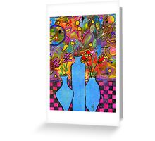 An Abstract Still Life Greeting Card