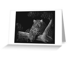Spotted - leopard Greeting Card