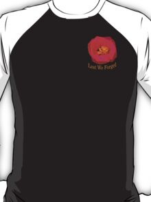 "Lest We Forget - ""Pocket"" Badge T-Shirt"