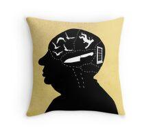 The Master of Suspense Throw Pillow