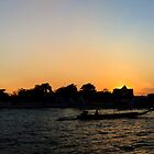 Sunset @ Wat Arun by Kelvin Won