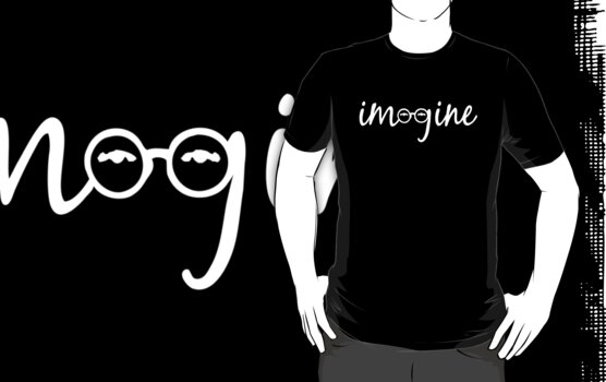 Imagine - John Lennon Tribute T-Shirt by Denis Marsili