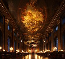 Painted Hall, Old Royal Naval College by Irina Chuckowree