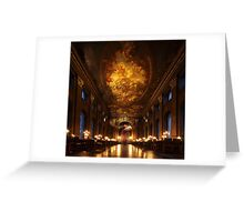 Painted Hall, Old Royal Naval College Greeting Card