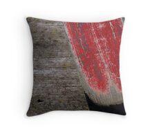The red oar Throw Pillow