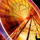 Christmas Wheel by Sue Fallon Photography