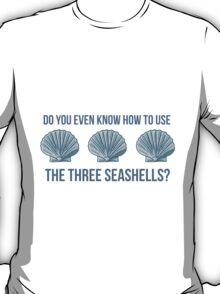Three Seashells T-Shirt