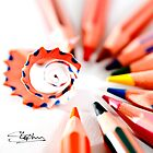 Pencil display by Stephen Knowles