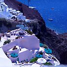 santorini Greece by thvisions