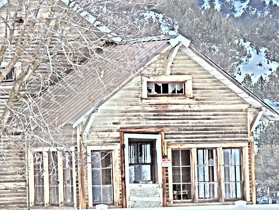 The Haunted House by © Betty E Duncan ~ Blue Mountain Blessings Photography