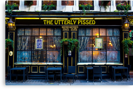 The Utterly Pissed Pub by DavidHornchurch