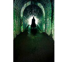 Spooky man Photographic Print