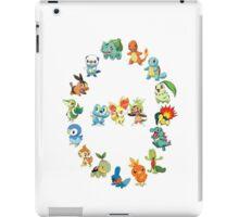 6 Generations of Starters iPad Case/Skin