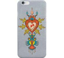 Heart Rules iPhone Case/Skin