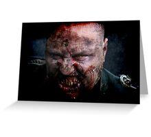 Zombie General II Greeting Card